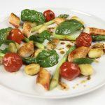 Stekt kongekrabbe med gnocchi og asparges